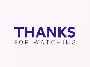 Thank You For Watching My Presentation GIFs | Tenor