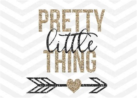 Pretty Little Thing Svg File Svg Cut File Baby Girl Svg