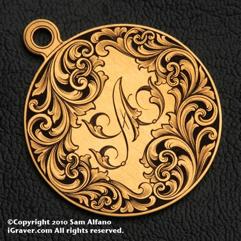 sam alfano engraver jewelry engraving