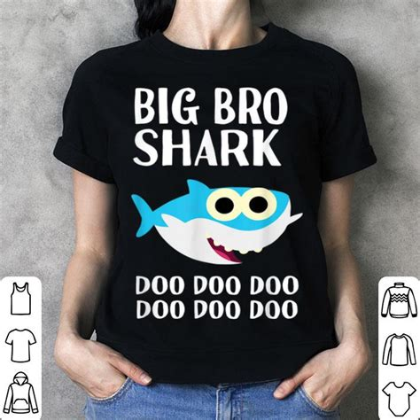 Hot Brother Shark Doo Doo Big Bro Halloween Christmas ...
