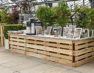 Bar Aus Holzpaletten : palettenbar buffet apleona hsg event services ~ Sanjose-hotels-ca.com Haus und Dekorationen