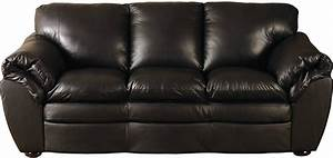 The best the brick leather sofa for Genuine black leather sectional sofa