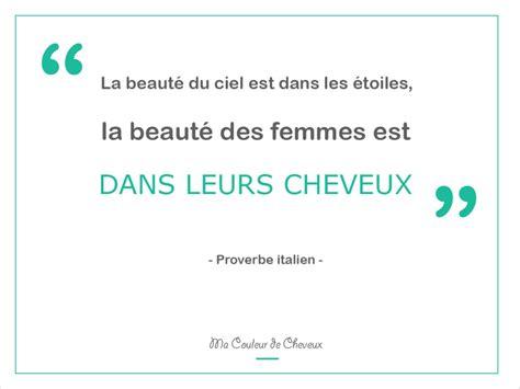 proverbes  citations pour les femmes ma couleur de cheveux