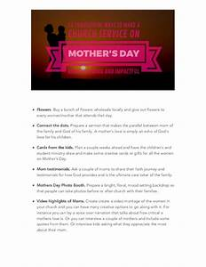 Mothers day: 12 Thoughtful Ways to Make a Church Service ...
