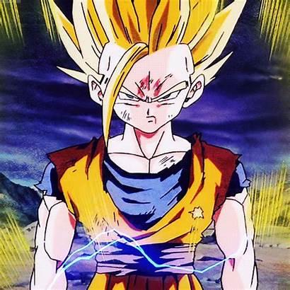 Gohan Ssj Anime Saiyan Ss2 Dragon Ball