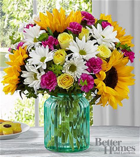 ftd sunlit bouquet by better homes and gardens