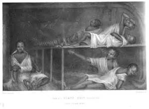 Middle Passage Slave Ship Inside