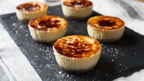 mini creme brulee cheesecakes hungry af tastemade