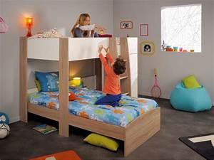 Lit Enfant 4 Ans : lit superpos clement secret de chambre ~ Teatrodelosmanantiales.com Idées de Décoration