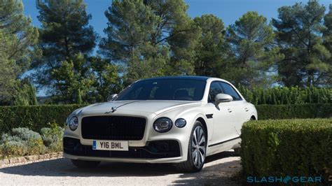 2020 bentley flying spur first speed and obsession slashgear