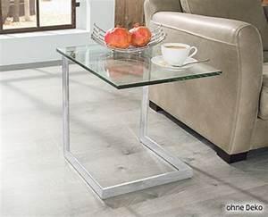 Living Style Möbel : living style glas beistelltisch von aldi s d ansehen ~ Watch28wear.com Haus und Dekorationen