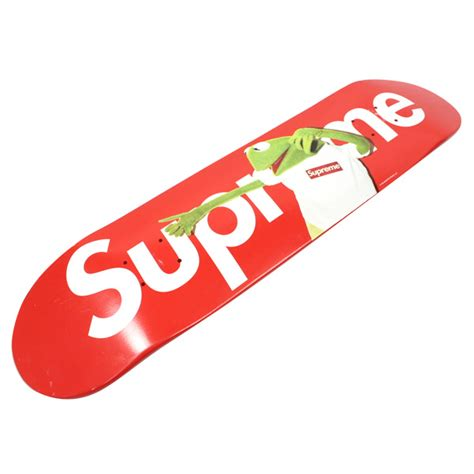 Supreme Skateboarding Stay246 Supreme Shupurimu 215 08ss Kermit The Frog Kermit