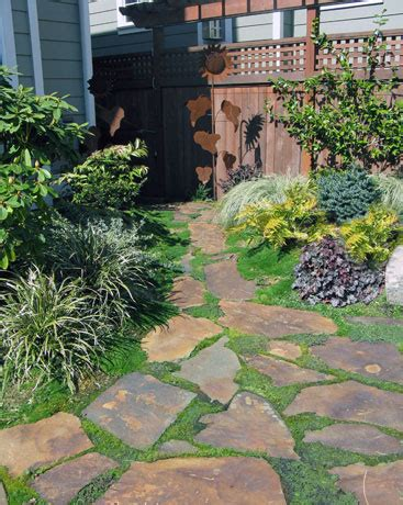 landscaping with flagstone flagstone designs landscape ideas fine gardening