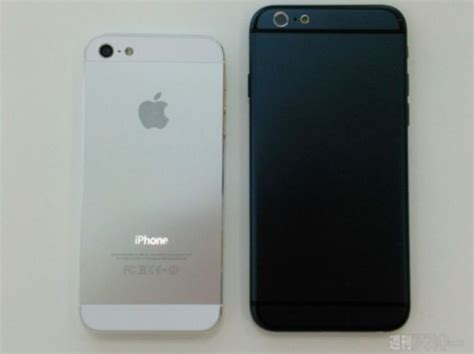 leaked photos of iphone 6 iphone 6 again gets leaked with a slim design cafeios net