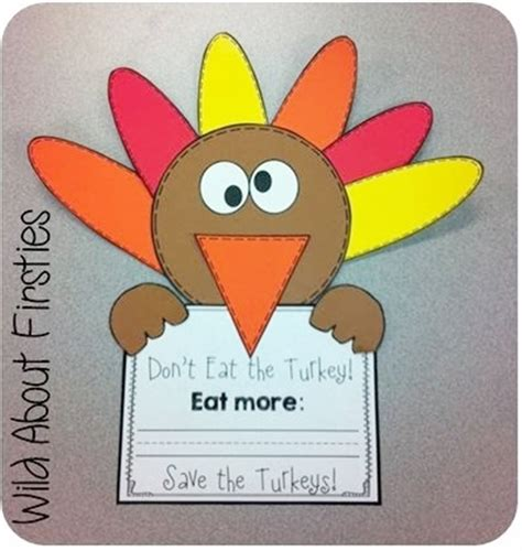 9 easy and thanksgiving activities for kindergarten 907 | 9 Easy and Fun Thanksgiving Activities for Kindergarten cute craftivity to go along with The Thanksgiving Surprise