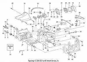 Poulan 3450 Gas Saw  3450  P219  Parts Diagram For