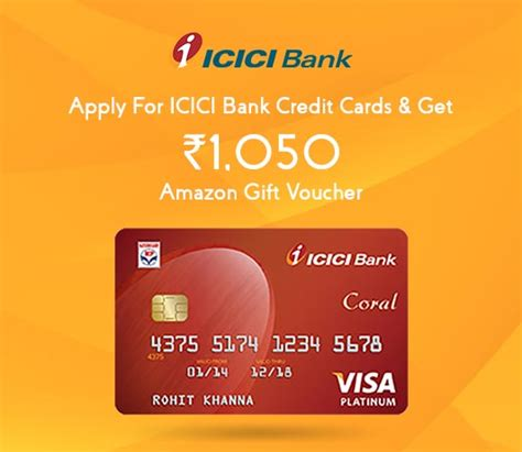 Highlights amazon has partnered with icici bank to offer credit cards to its custome this credit card offers 5 percent reward points to prime customers on sho amazon notes that this credit card will give prime members the option to earn 5 percent reward. Apply For ICICI Bank Credit Cards & Get Rs. 1050 Amazon Gift Voucher