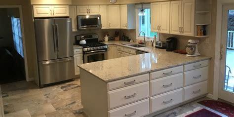 Kitchen Molding Ideas - u shaped kitchen remodel in nj monk 39 s home improvements