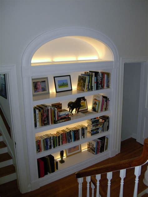 Bookcase Lights by 25 Best Ideas About Bookcase Lighting On Led
