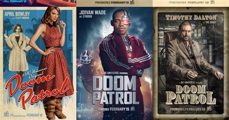 doom patrols holiday themed teaser shows  heroes polygon