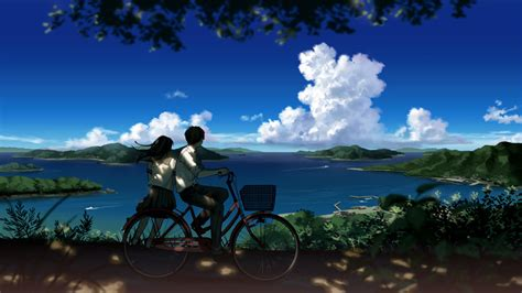 Beautiful Anime Scenery Wallpaper - most beautiful scenic wallpapers 53 images