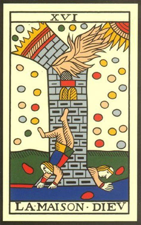 les secrets du tarot la maison dieu arcane 16