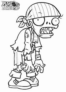 Free Plants Vs Zombies Coloring Pages Plants Vs Zombies