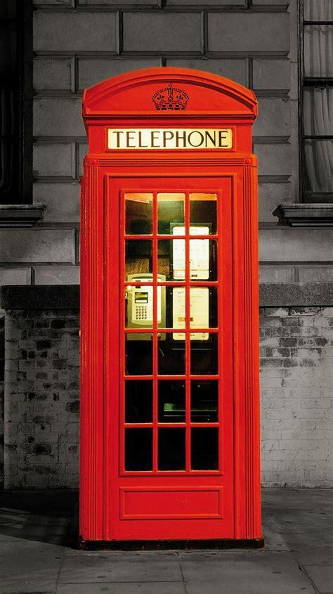 le bureau viticole la cabine téléphonique poster mural papier