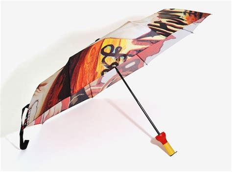 umbrella with fan and mister deadpool umbrella is all about chimichangas and sauce