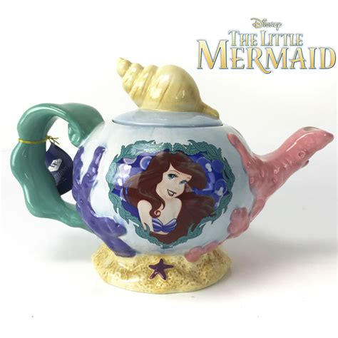 the little mermaid pear of the sea teapot ships free