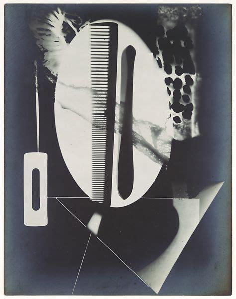 man ray rayograph comb straight razor blade needle