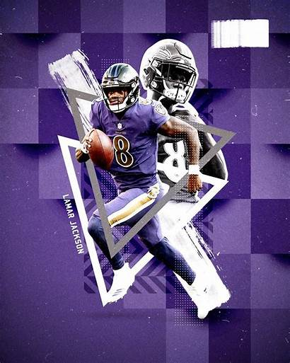 Lamar Jackson Ravens Wallpapers Football Baltimore Nfl