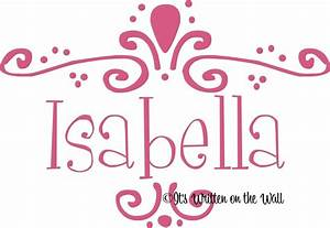 Images Of Isabella Name Art Golfclub
