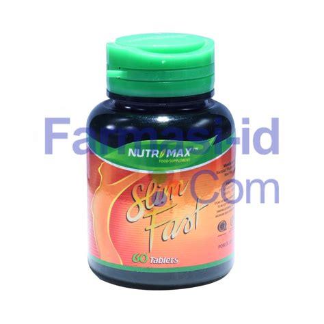 nutrimax slim fast nutrimax slim fast kandungan indikasi efek sing dosis obat apa obat pelangsing