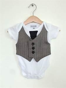Baby boy clothes 0 to 3 months newborn boy vest and tie baby