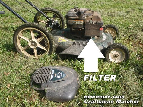 Push Mower Fuel Filter by Craftsman 917 Lawn Mower 6 5 Hp Briggs And Stratton