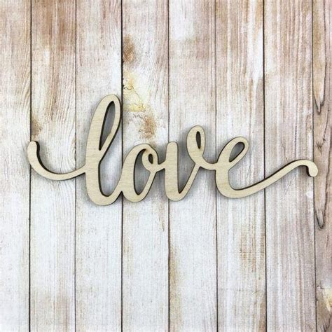 Decorating wall words offer you a modern way to express your message to the public and all people who see them. 20+ Wood Word Wall Art | Wall Art Ideas