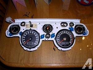 1967  U0026 1968 Shelby Mustang Gauge Clusters W  Tach