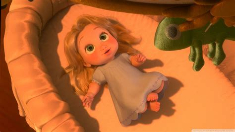 baby rapunzel tangled  animated wallpaper preview