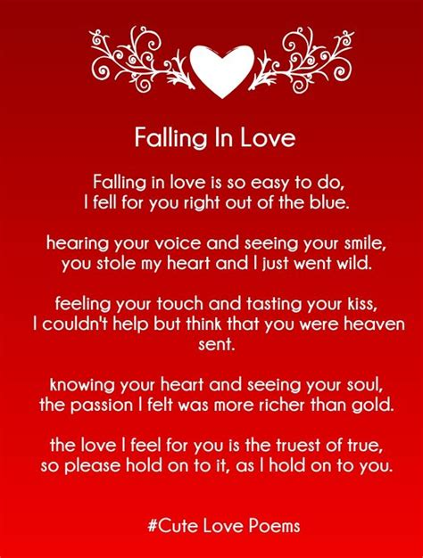 love rhyming poems   cute love quotes
