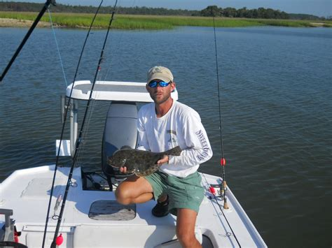 beaufort  hilton head inshore fishing guide beaufort