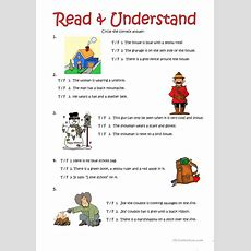 Read & Understand (2) Worksheet  Free Esl Printable Worksheets Made By Teachers