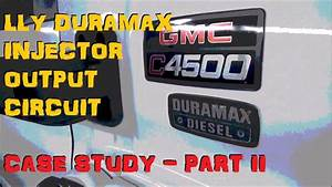 Duramax Lly - Ficm    Injector Trouble    Misfire - Part 2