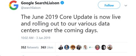Google's June 2019 Core Algorithm Update (facts And How To