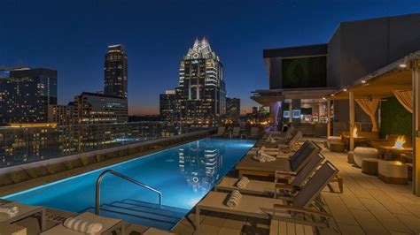 austin rooftop pool  westin austin downtown