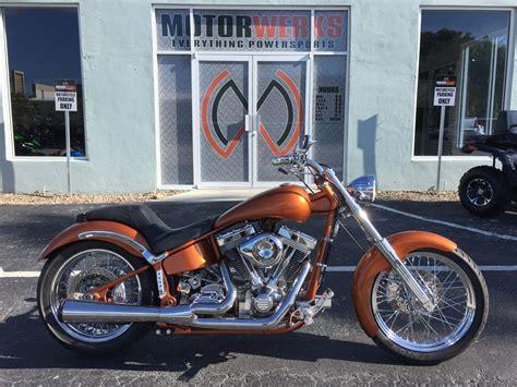 Used 2005 Harley-davidson Custom Softail