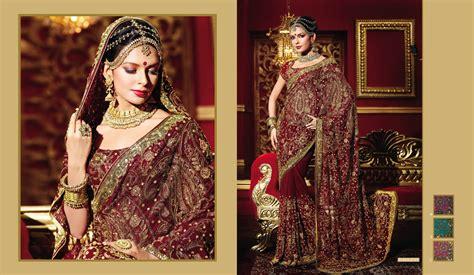 Rich Emroidered Indian Bridal Saree Manufacturer In New