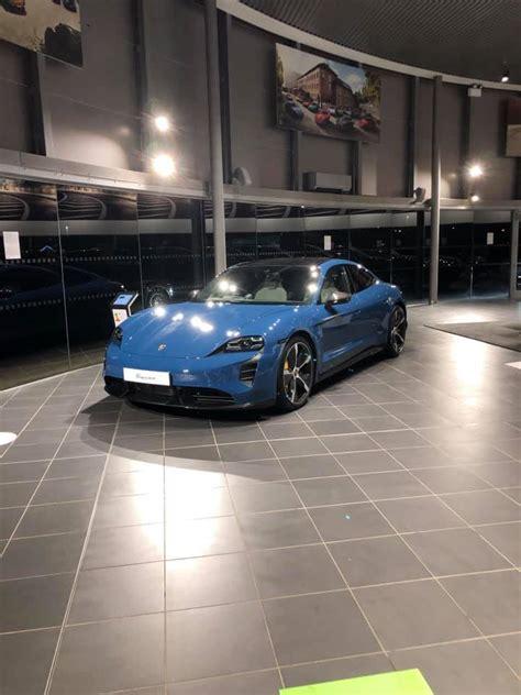 NEPTUNE BLUE Taycan Club   Porsche Taycan Forum ...