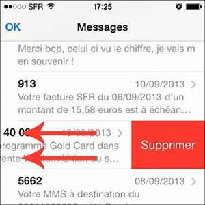 Comment Supprimer Une Application Iphone 7 : ios comment effacer un seul sms de l 39 iphone ~ Medecine-chirurgie-esthetiques.com Avis de Voitures