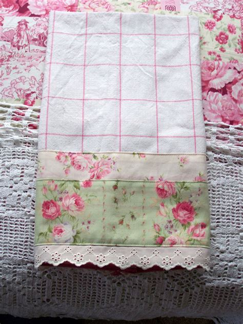 shabby chic towels luxury guest tea towel for shabby chic kitchen a decorati flickr